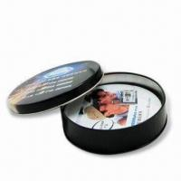 Quality Cork Coasters(Tin material available) with 90mm Standard Diameter and 4 Colors Offset Printing for sale