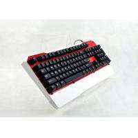 Quality Durable ergonomic mechanical gaming keyboard for computer with 104 Keys for sale