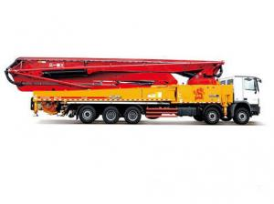 Quality 85km/H 66m Truck Mounted Concrete Pump SY5631THB 660C-8 for sale