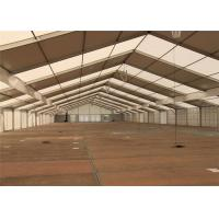 Buy Rain Resistant 20mx50m Clear Span Fabric Structures Large Warehouse at wholesale prices