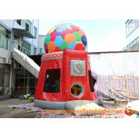 Quality Candy Machine Inflatable Air Bouncer / Inflatable Dome Jumpung Castle for sale