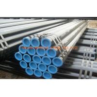 Quality Black Painted Round ERW Steel Pipe 400mm / 300mm For Water , Q195 - Q235 for sale