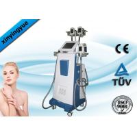 China Non - Invasive 4 Handles Cryolipolysis Body Sculpting Machines 800w on sale