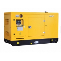 Quality 20kva yellow small silent diesel generator price , small generator Customs Data for sale