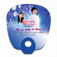 Quality Hand Fan for Promotional Purposes, Made of PP, Various Styles and Colors are Available for sale
