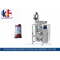 Quality KEFAI big bag automatic liquid packing machine price chili sauce filling and sealing bag machine for sale