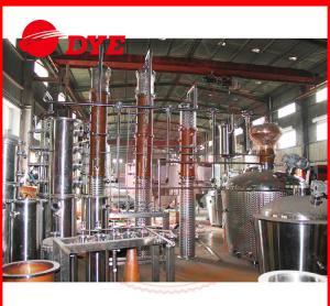 Quality Semi-Automatic Commercial Distilling Equipment 200L - 5000L CE for sale