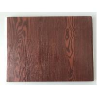 Quality Fireproof  PVC Garage Wall Panels With Wooden Lamination Width 40cm for sale