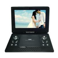 Quality Portable DVD Player of 10 Inch LCD Screen with TV / Games / Radio OEM order for sale