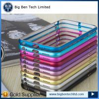 Buy china supplier aluminum for iphone 6 bumper metal case 12 colors at wholesale prices
