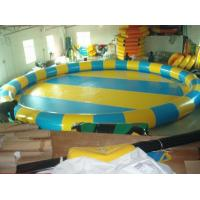 China Inflatable Circular Swimming Pool / Inflatable Swimming Pools for Amusement Water Park on sale