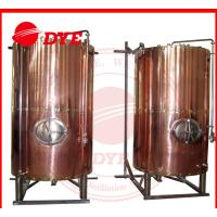 Buy DYE Semi-Automatic Mini Bright Beer Tank For Brewery 1 - 3 Layers at wholesale prices