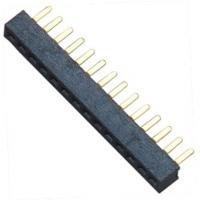 Quality 15 pin Female Header Connector Single Row Straight DIP for Automobile for sale