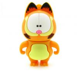 Quality cartoon Garfield cat animal usb flash drive 32GB USB drive 4GB  flash memory disk for sale