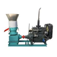 Quality Roller Driven 300AD Flat Die Pellet Mill with Diesel Engine for sale