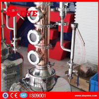 Quality Home used copper distillation towers whisky brandy distillers wine on sale for sale