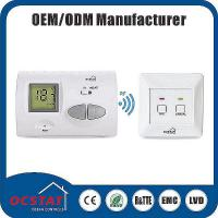 Buy cheap Air Conditioner Room Non Programmable Thermostat with Frame / Blue Blacklight from wholesalers