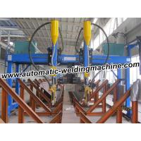 Buy cheap High Speed H Beam Production Line , High Accuracy Gantry Welding Machine from wholesalers