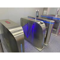 Quality Face Recognition Infrared Thermoter Automatic System Turnstile 30 Degree Filed View for sale