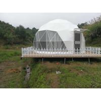 Quality 6m Outdoor Small Geodesic Dome Shelter For Resorts Flame Retardant DIN4102 B1 M2 B1 for sale