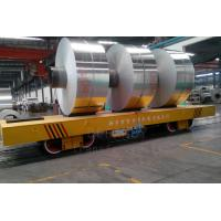Quality Customized heavy duty V frame motorized rail  coil transfer car famous manufacturer for sale
