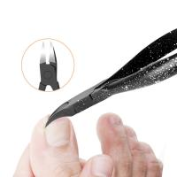 Quality Toenail Ingrown Nail Care Tools Edge Cutter Nipper Length 11.4cm Rotatable Shrapnel Design for sale