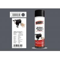 Quality Spray Marking Spray Paint Matt Light Gray Color No Harm For Animal APK-6810-8 for sale