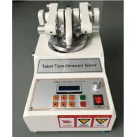 Quality Taber Abrasion Tester ASTM D7255 Leather Rotary Abraser for Wear Test for sale