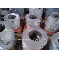 Quality 201 Cold Roll Stainless Steel Strip / SS Coil No.4 Finish Customized Width for sale