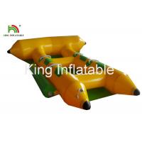 Quality Commercial PVC Inflatable Towable Water Flying Fish Boat For 4 People for sale