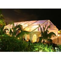 Quality Rainproof Standard Size Clear Party Event Tents For Outdoor Commercial Activities for sale