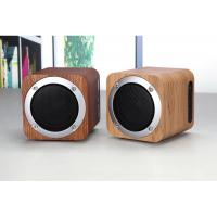 Quality Wooden Bluetooth Speaker Wireless Computer Speaker with Enhanced Bass Resonator for sale