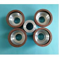 Quality Small Diameter Resin Bonded Diamond Grinding Wheels Bowl Shape 50*20*20*5*5 for sale