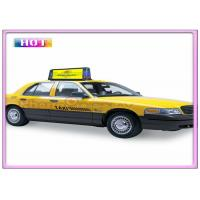 Quality Aluminum Alloy Slim P5 Taxi LED Display Programmable with 3G / WIFI / GPS / USB Wireless for sale