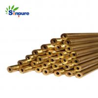 China High Precission brass H59-1 Thin wall  capillary tube on sale