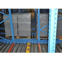 Quality High Pallet storage gravity flow Radio shuttle racks for sale