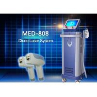 Quality Amazing 808 nm Diode Laser Hair Removal Equipment For Male Peak Power 2000 watt for sale