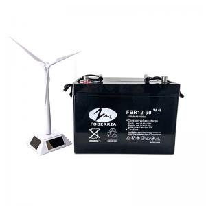 Quality Deep Cycle Sealed Lead Acid Battery 12V 90ah For UPS Solar System for sale