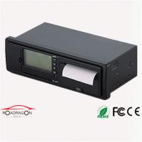 Quality GH Fleet Management Intergrated GSM GPRS GPS Digital Tachograph G-V301 With Voice Recorder for sale