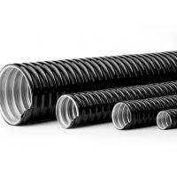 Quality 4 Inch PVC Coated Flexible Electrical Conduit Pipe Customizable Printing for sale