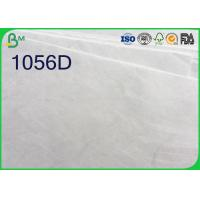 Quality White Color Tyvek Paper Roll , 1025D 1056D 1057D Tyvek Sheets For Printing for sale