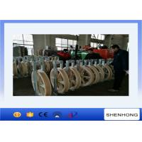 Buy cheap Single Nylon Wheels Large Diameter Rope Pulley Diameter 916mm Stringing Conductor from wholesalers