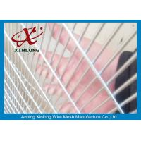 Quality Anti - Destroy Security Perimeter Fencing , Security Mesh Fence For Military Base for sale