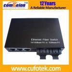 Quality 10/100M Ethernet Optical Fiber Media Converter (FEM-7815 Series) for sale