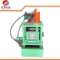 China C Purlin Steel Roof Roll Forming Machine Running Stably 8-12 M/Min Forming Speed on sale