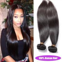 Quality 7A Grade Natural Color Straight Brazilian Hair Extensions For Fine Hair Free Sample for sale