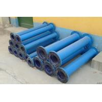 Buy cheap Chemical and agrochemical glass lined reactor repair lined steel pipe from wholesalers