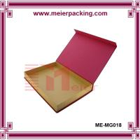 Quality printed recycled folding kraft paper box for gift and packaging ME-MG018 for sale