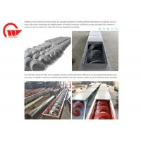 Quality Large Angle Screw Conveyor Machine Long Distance For Powder Double Pitches for sale