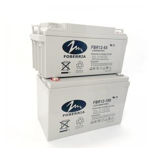 Quality F13 Agm 65AH 100AH 12V Rechargeable Battery For Solar Panel for sale